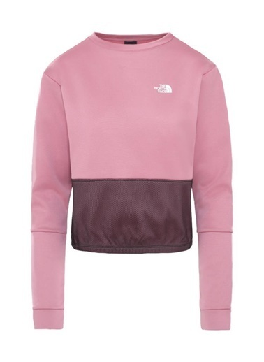 The North Face  Train Pullover Kadın Sweatshirt Pembe Renkli